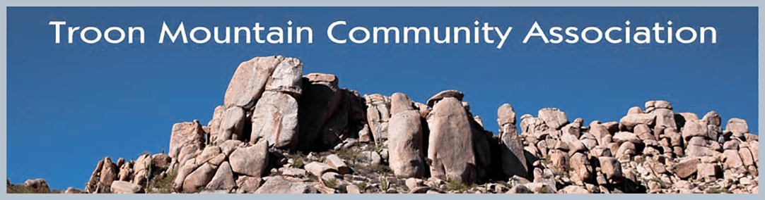 Troon Mountain Community Association